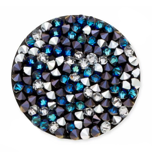 SWAROVSKI® 72013 Crystal Rocks 15mm Bermuda Blue CAL