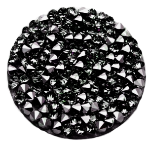 SWAROVSKI® 72013 Crystal Rocks 15mm Diamond Metallic