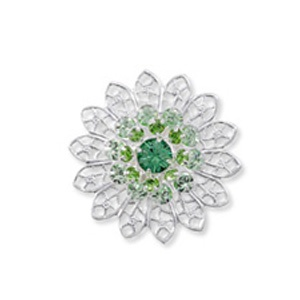 SWAROVSKI Element 62004 26mm Chrysolite Peridot Erinite