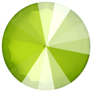 SWAROVSKI Rivoli 1122 12mm Crystal Lime