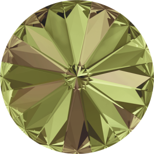 SWAROVSKI Rivoli 1122 8mm Luminous Green