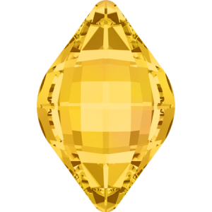 SWAROVSKI 4230 14mm Lemon Light Topaz