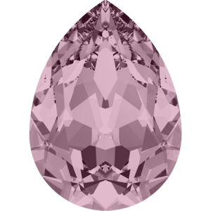 SWAROVSKI 4320 10mm Birne Antique Pink