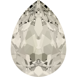 SWAROVSKI 4320 14mm Pear Crystal Moonlight