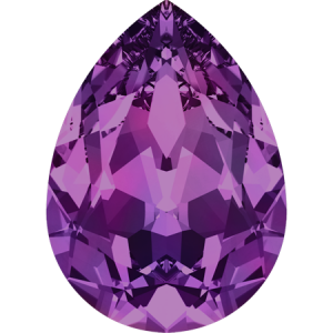 SWAROVSKI 4320 14mm Pear Amethyst