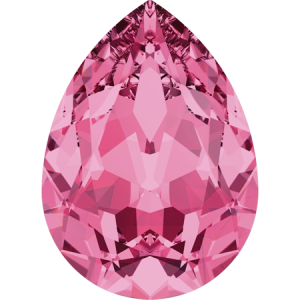 SWAROVSKI 4320 10mm Birne Rose