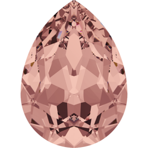 SWAROVSKI 4320 14mm Birne Blush Rose