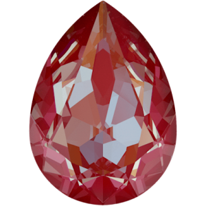 SWAROVSKI 4320 14mm Birne Royal Red DeLite