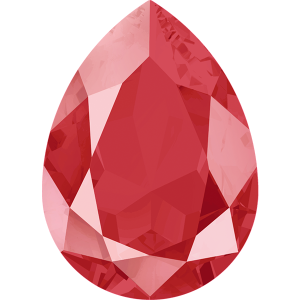 SWAROVSKI 4320 14mm Birne Royal Red Lacquer Pro