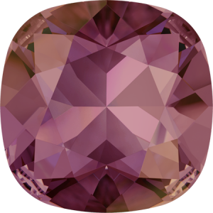 SWAROVSKI 4470 10mm rounded Square Lilac Shadow