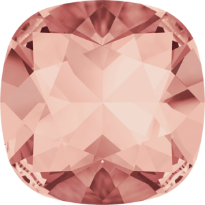 SWAROVSKI 4470 10mm rounded Square Rose Peach