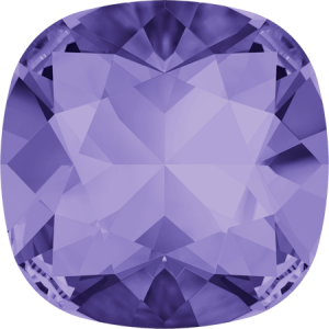 SWAROVSKI 4470 10mm rounded Square Tanzanite