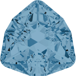 SWAROVSKI 4706 12mm Trilliant Aquamarine