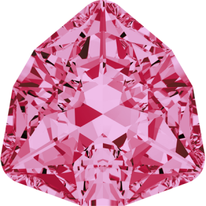 SWAROVSKI 4706 12mm Trilliant Rose