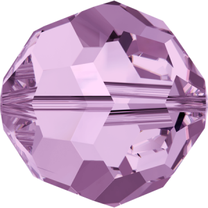 SWAROVSKI 5000 8mm Bead round Light Amethyst