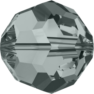 SWAROVSKI 5000 8mm Perle rund Black Diamond