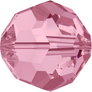 SWAROVSKI 5000 6mm Perle rund Light Rose