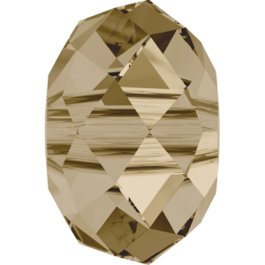 SWAROVSKI 5041 18mm Briolette Bead Golden Shadow