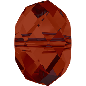 SWAROVSKI 5041 18mm Briolette Bead Red Magma