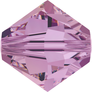 SWAROVSKI 5328 6mm XILION Perle Crystal Lilac Shadow