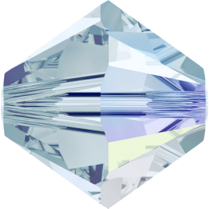 SWAROVSKI 5328 4mm XILION Perle Light Azore AB