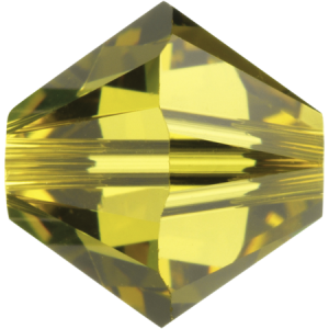 SWAROVSKI 5328 XILION Bead 4mm Lime