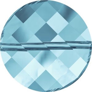 SWAROVSKI 5621 14mm Twist Perle Aquamarine
