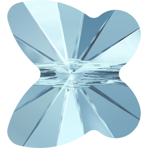 SWAROVSKI 5754 10mm Schmetterling Aquamarine