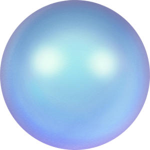 SWAROVSKI 5810 8mm Perle Iridescent Light Blue
