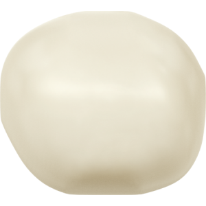 SWAROVSKI 5840 8mm Baroque Perle Cream
