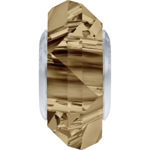 SWAROVSKI 5929 14mm Charm Golden Shadow Steel