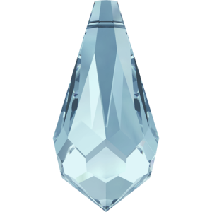 SWAROVSKI 6000 11x5.5mm Drop Pendant Aquamarine