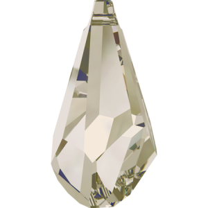 SWAROVSKI 6015 50mm Polygon Pendant Silver Shade
