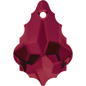 SWAROVSKI 6090 16mm Baroque Pendant Ruby