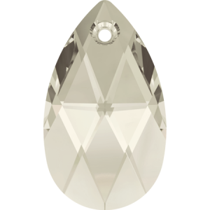SWAROVSKI 6106 16mm Pear Pendant Silver Shade