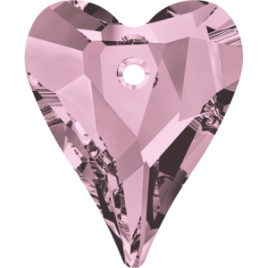 SWAROVSKI 6240 12mm Wild Heart Anhänger Antique Pink