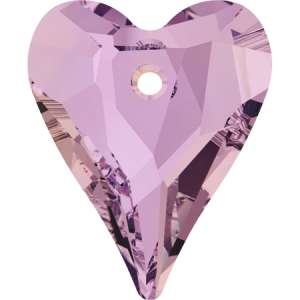 SWAROVSKI 6240 12mm Wild Heart Pendant de Lilac Shadow