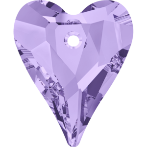 SWAROVSKI 6240 12mm Wild Heart Pendant Tanzanite