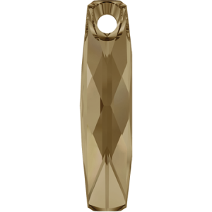 SWAROVSKI 6460 20mm Column Anhänger Golden Shadow