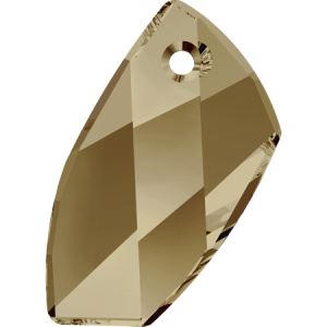 SWAROVSKI 6620 20mm Avant-Garde Pendant Golden Shadow