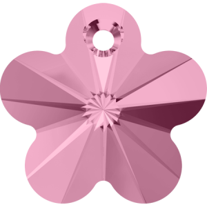 SWAROVSKI 6744 12mm Blume Anhänger Light Rose