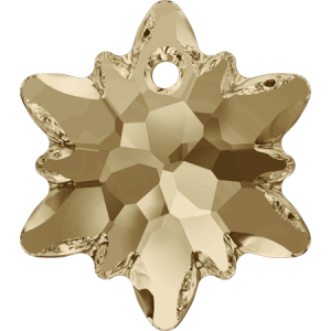 SWAROVSKI 6748 18mm Edelweiss Golden Shadow