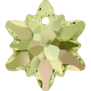 SWAROVSKI 6748 18mm Edelweiss Luminous Green