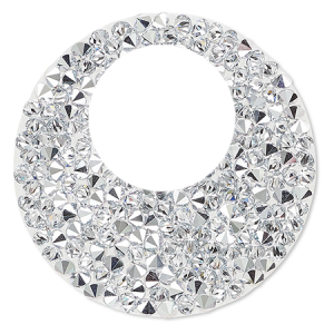 SWAROVSKI® 72020 Crystal Rocks 24mm Crystal Comet Argent Light