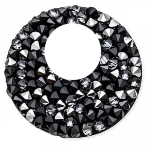 SWAROVSKI® 72020 Crystal Rocks 24mm Crystal CAL Jet