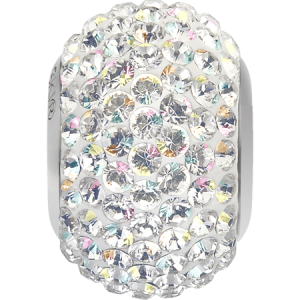 SWAROVSKI 180101 14mm BeCharmed Pavé Perle Crystal AB