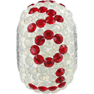 SWAROVSKI 181732 14mm BeCharmed Pavé Perle Love Light Siam