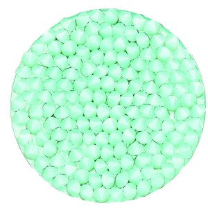 SWAROVSKI® 72013 Crystal Rocks 15mm Mint Alabaster