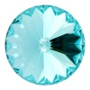 SWAROVSKI ELEMENTS 1122 14mm Rivoli Light Turquoise