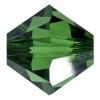 SWAROVSKI ELEMENTS 5328 4mm XILION Perle Dark Moss Green